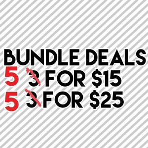 Other - Bundle deals